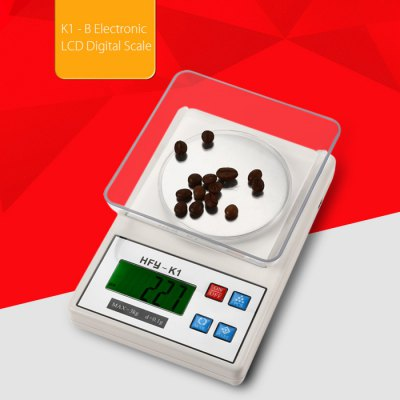 K1 - B Electronic LCD Digital Scale for Home