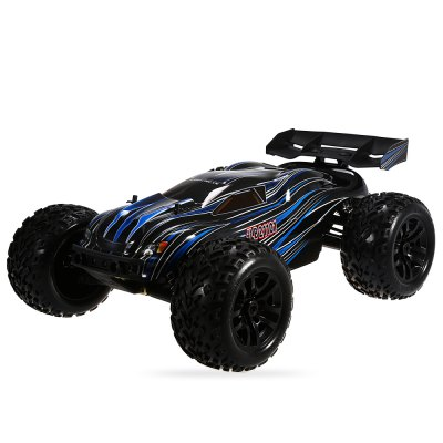 JLB Racing 21101 1:10 4WD RC Off-road Truck - RTR sst racing expedition xmt 1 10 scale go 3 3cc nitro engine power 4wd off road monster truck high speed rc car for hobby