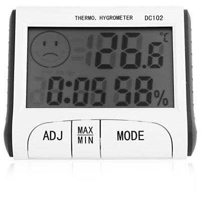 DC-102 4 in 1 Digital Thermometer / Hygrometer / Clock / Alarm