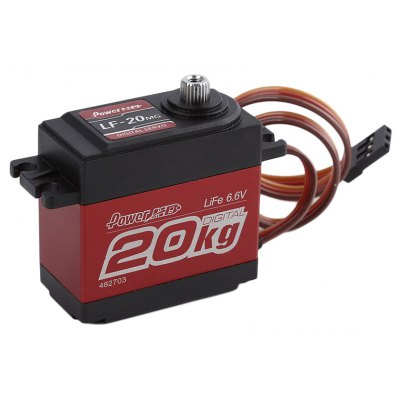 Spare Power HD LF - 20MG 20KG Digital Servo for 1 / 10 1 / 8 Scale Crawler Car