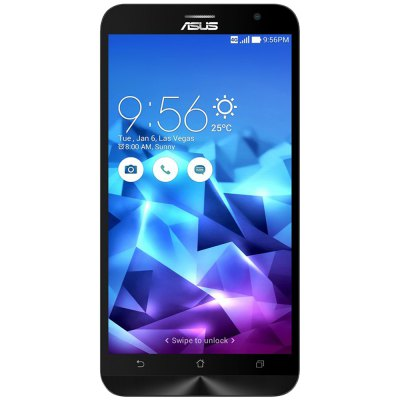 ASUS Zenfone2 DELUXE ZE551ML 4G PhabletCell phones<br>ASUS Zenfone2 DELUXE ZE551ML 4G Phablet<br><br>Brand: ASUS<br>Type: 4G Phablet<br>OS: Android 5.0<br>Service Provide: Unlocked<br>Language: Arabic, Bulgarian, Burmese, Czech, English, French, German, Greek, Hebrew, Hungarian, Indonesian, Italian, Lithuanian, Malay, Polish, Portuguese, Romanian, Russian, Serbian, Slovak, Spanish, Thai, Tur<br>SIM Card Slot: Dual SIM,Dual Standby<br>SIM Card Type: Dual Micro SIM Card<br>CPU: Intel Z3560<br>Cores: 1.8GHz,Quad Core<br>GPU: PowerVR 6430 640MHz<br>RAM: 4GB RAM<br>ROM: 16GB<br>External Memory: Not Supported<br>Wireless Connectivity: 3G,4G,Bluetooth 4.0,GPS,GSM,WiFi<br>WIFI: 802.11a/b/g/n wireless internet<br>Network type: FDD-LTE+WCDMA+GSM<br>2G: GSM 850/900/1800/1900MHz<br>3G: WCDMA 850/900/1900/2100MHz<br>4G: FDD-LTE 1800/2100MHz<br>Screen type: IPS<br>Screen size: 5.5 inch<br>Screen resolution: 1920 x 1080 (FHD)<br>Camera type: Dual cameras (one front one back)<br>Back camera: 13.0MP,with flash light<br>Front camera: 5.0MP<br>Video recording: Yes<br>Picture format: BMP,GIF,JPEG,PNG<br>Music format: AAC,MP3,WAV<br>Video format: 3GP,H.263,H.264,MP4,WMV<br>Games: Android APK<br>I/O Interface: 2 x Micro SIM Card Slot,3.5mm Audio Out Port,Micophone,Micro USB Slot,Speaker<br>Bluetooth version: V4.0<br>Sensor: Gravity Sensor<br>FM radio: Yes<br>Additional Features: 3G,4G,Alarm,Bluetooth,Browser,Calculator,Calendar,GPS,MP3,MP4,People,Wi-Fi<br>Battery Capacity (mAh): 1 x 3000mAh<br>Battery Type: Lithium-ion Polymer Battery<br>Cell Phone: 1<br>Power Adapter: 1<br>USB Cable: 1<br>Product size: 15.65 x 7.72 x 1.08 cm / 6.16 x 3.04 x 0.43 inches<br>Package size: 17.30 x 9.20 x 7.00 cm / 6.81 x 3.62 x 2.76 inches<br>Product weight: 0.170 kg<br>Package weight: 0.550 kg