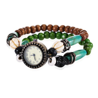REBIRTH RE036A Retro Wind Lady Bracelet Quartz WatchWomens Watches<br>REBIRTH RE036A Retro Wind Lady Bracelet Quartz Watch<br><br>Watches categories: Female table<br>Watch style: Bracelet Style,Retro<br>Available color: Coffee,Green,Purple,Yellow<br>Movement type: Quartz watch<br>Shape of the dial: Round<br>Display type: Analog<br>Case material: Alloy<br>Band material: Wood<br>Clasp type: Jewelry clasp<br>Water resistance : Life water resistant<br>Dial size: 2.3 x 2.3 x 0.6 cm / 0.91 x 0.91 x 0.24 inches<br>Product weight: 0.028 kg<br>Package weight: 0.052 kg<br>Product size (L x W x H): 8.00 x 7.00 x 2.30 cm / 3.15 x 2.76 x 0.91 inches<br>Package size (L x W x H): 8.50 x 8.00 x 5.30 cm / 3.35 x 3.15 x 2.09 inches<br>Package Contents: 1 x REBIRTH RE036A Retro Wind Lady Bracelet Quartz Watch, 1 x Box