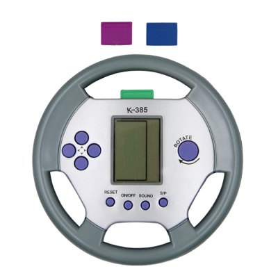 Steering Wheel Shape Game Console