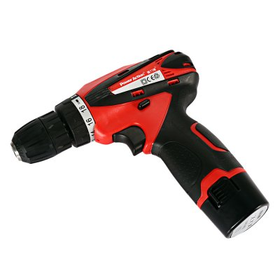 POWERACTION CD6262 12V Electric Screwdriver Power ToolPower Drill<br>POWERACTION CD6262 12V Electric Screwdriver Power Tool<br><br>Brand: POWERACTION<br>Model: CD6262<br>Package Contents: 1 x Electric Screwdriver ( with Battery ), 1 x Charger ( 1m Line ), 1 x Case<br>Package size (L x W x H): 30.00 x 8.00 x 25.00 cm / 11.81 x 3.15 x 9.84 inches<br>Package weight: 1.8650 kg<br>Product size (L x W x H): 19.00 x 3.50 x 18.50 cm / 7.48 x 1.38 x 7.28 inches<br>Product weight: 0.9110 kg<br>Special Functions : Electric Screwdriver Hand Power Tool