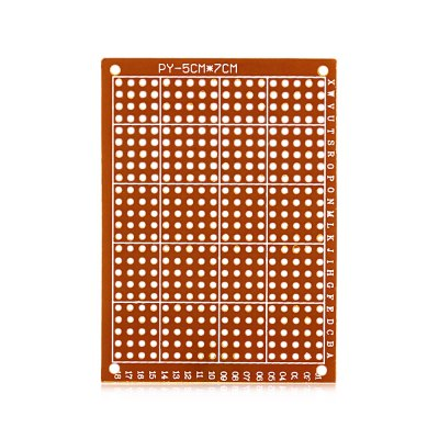 Multifunctional Universal Glass Fiber Prototyping PCB Board3D Printer Parts<br>Multifunctional Universal Glass Fiber Prototyping PCB Board<br><br>Material: Glass Fiber PCB<br>Package Contents: 1 x PCB Board<br>Package size: 13.00 x 10.00 x 3.00 cm / 5.12 x 3.94 x 1.18 inches<br>Package weight: 0.030 kg<br>Product size: 7.00 x 5.00 x 0.12 cm / 2.76 x 1.97 x 0.05 inches<br>Product weight: 0.004 kg<br>Suitable for: Accessory