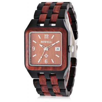 BEWELL ZS - W111A Fashion Wooden Men Quartz Watch