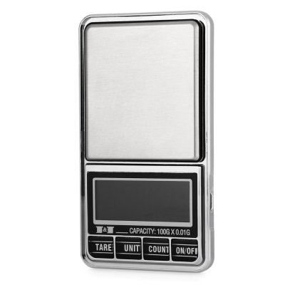 DS - 29 0.01g Accuracy Mini LCD Digital Jewelry ScaleDigital Scales<br>DS - 29 0.01g Accuracy Mini LCD Digital Jewelry Scale<br><br>Material             : ABS<br>Model: DS - 29<br>Package Contents: 1 x Mini LCD Digital Jewelry Scale, 1 x Bag, 1 x English User Manual<br>Package size (L x W x H): 13.80 x 9.00 x 5.00 cm / 5.43 x 3.54 x 1.97 inches<br>Package weight: 0.150 kg<br>Product size (L x W x H): 11.50 x 6.50 x 1.60 cm / 4.53 x 2.56 x 0.63 inches<br>Product weight: 0.090 kg<br>Type: Jewelry Scale