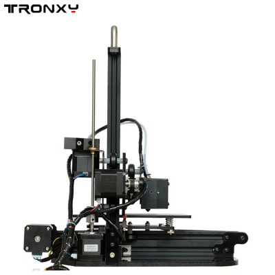 Tronxy Desktop 3D Printer3D Printers, 3D Printer Kits<br>Tronxy Desktop 3D Printer<br><br>Brand: Tronxy<br>Certificate: CE,FCC,RoHs<br>Engraving Area: 150 x 150mm x 150mm<br>LCD Screen: Yes<br>Material diameter: 1.75mm<br>Memory card offline print: SD card<br>Nozzle diameter: 0.4mm<br>Nozzle quantity: Single<br>Package size: 32.70 x 29.70 x 15.20 cm / 12.87 x 11.69 x 5.98 inches<br>Package weight: 4.8200 kg<br>Packing Contents: 1 x Desktop 3D Printer<br>Packing Type: unassembled packing<br>Product size: 34.00 x 36.50 x 35.00 cm / 13.39 x 14.37 x 13.78 inches<br>Product weight: 3.5000 kg<br>Supporting material: PLA<br>XY-axis positioning accuracy: 0.012mm<br>Z-axis positioning accuracy: 0.004mm