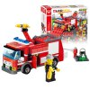 cheap 206pcs ABS Building Block Fire Engine Model DIY