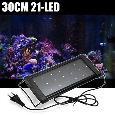 30cm 21 x SMD 2835 LED Grow Light for Fish Tank Coral Reefs Plants