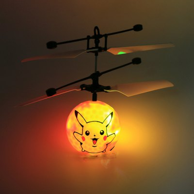 Cartoon Figure Style Infrared Control Helicopter - 6 inch