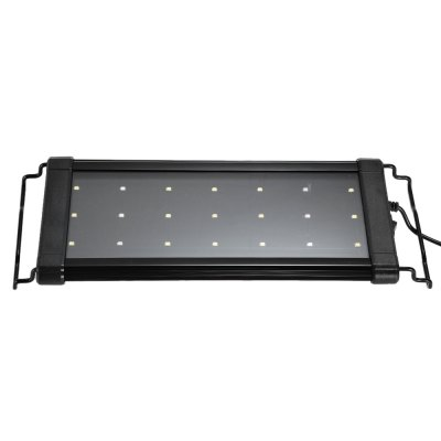 30cm 21 x SMD 2835 Aquarium LED Grow Light for Aquatic PlantsNight Lights<br>30cm 21 x SMD 2835 Aquarium LED Grow Light for Aquatic Plants<br><br>Available Light Color: Blue + White<br>Emitter Types: SMD 2835<br>Features: Long Life Expectancy, Energy Saving<br>Function: Aquarium Lighting<br>Holder: Wired<br>Output Power: 8-12W<br>Package Contents: 1 x LED Aquarium Light<br>Package size (L x W x H): 35.00 x 13.50 x 3.50 cm / 13.78 x 5.31 x 1.38 inches<br>Package weight: 0.494 kg<br>Plug: EU plug<br>Product size (L x W x H): 26.50 x 12.50 x 2.00 cm / 10.43 x 4.92 x 0.79 inches<br>Product weight: 0.393 kg<br>Total Emitters: 21<br>Type: Grow Light<br>Voltage (V): AC220