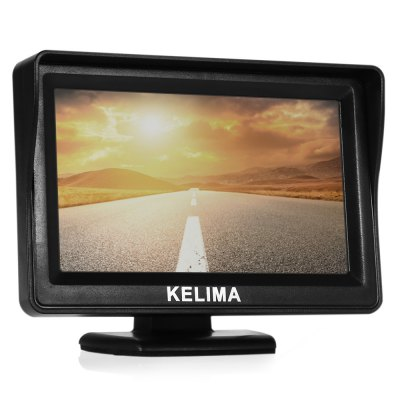 KELIMA 4.3 inch Two-way AV-in Car Rearview SystemOther Car Gadgets<br>KELIMA 4.3 inch Two-way AV-in Car Rearview System<br><br>Apply To Car Brand: Universal<br>Aspect ratio: 16:9<br>Display Resolution: 480 x 272<br>Display screen : TFT<br>Package Contents: 1 x KELIMA Car Rearview Mirror, 1 x Accessary Power Cable, 1 x English User Manual<br>Package size (L x W x H): 15.70 x 13.10 x 4.20 cm / 6.18 x 5.16 x 1.65 inches<br>Package weight: 0.222 kg<br>Power Cable Length: 0.55m main power cable, 1m accessary power cable<br>Power Supply: DC 12V - 24V<br>Product size (L x W x H): 11.70 x 0.80 x 8.20 cm / 4.61 x 0.31 x 3.23 inches<br>Product weight: 0.125 kg<br>Type: Rearview Mirror<br>Video format: PAL, NTSC