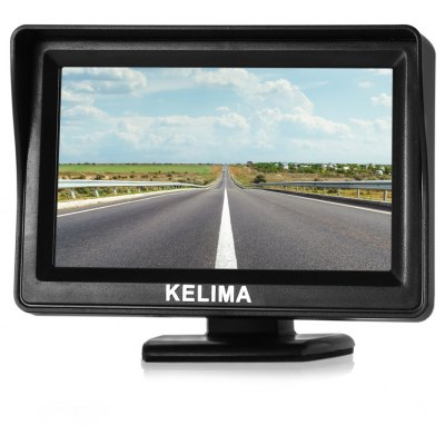 KELIMA 4.3 inch Two-way AV-in Car Rearview System