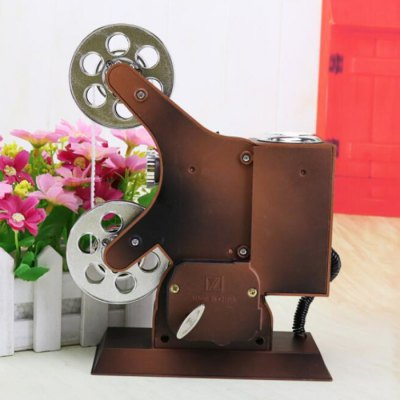Projector Style Clockwork Music Box with MirrorNovelty Toys<br>Projector Style Clockwork Music Box with Mirror<br><br>Features: Musical<br>Materials: Metal, Other, Plastic<br>Package Contents: 1 x Music Box<br>Package size: 18.00 x 10.00 x 25.00 cm / 7.09 x 3.94 x 9.84 inches<br>Package weight: 0.231 kg<br>Product size: 14.00 x 6.00 x 20.00 cm / 5.51 x 2.36 x 7.87 inches<br>Product weight: 0.220 kg<br>Series: Entertainment<br>Theme: Music