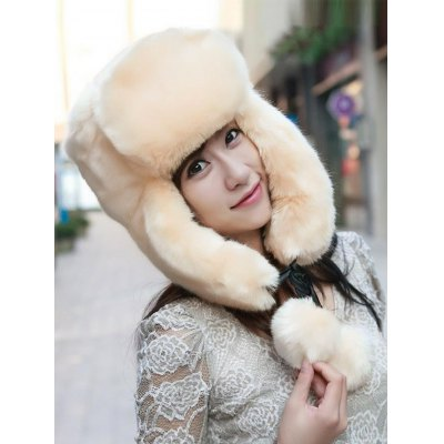 Women Winter Faux Fur Hat with EarmuffsWomens Hats<br>Women Winter Faux Fur Hat with Earmuffs<br><br>Group: Adult<br>Hat Type: Trapper Hat<br>Material: Faux Fur<br>Package Content: 1 x Women Hat<br>Package Dimension: 40.00 x 30.00 x 5.00 cm / 15.75 x 11.81 x 1.97 inches<br>Package weight: 0.350 kg<br>Pattern Type: Solid<br>Product weight: 0.320 kg<br>Style: Fashion
