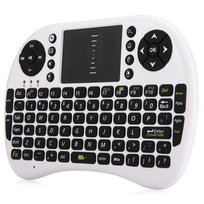 M2S 2.4GHz Wireless QWERTY Keyboard Touchpad