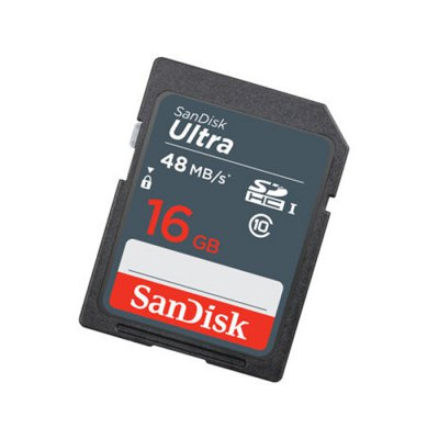SanDisk Ultra SDHC UHS - I Large Capacity 16GB 30MB/s Class 10  SD Extra Memory Card