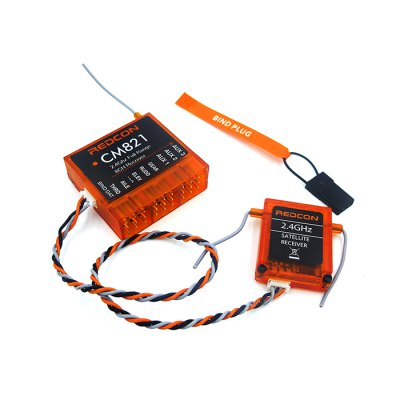 REDCON CM821 2.4GHz 8CH Receiver with Satellite