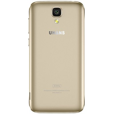 UHANS A101S 3G SmartphoneCell phones<br>UHANS A101S 3G Smartphone<br><br>Brand: UHANS<br>Type: 3G Smartphone<br>OS: Android 6.0<br>Service Provide: Unlocked<br>Language: English, Dutch, Spanish, Hindi, Indonesian, Portuguese , Italian, German, French, Russian, Arabic, Malay, Persian, Thai, Turkey, Urdu, Vietnamese, Greek, Ukrainian, Croatian, Czech, Danish, Hungarian.<br>SIM Card Slot: Dual SIM,Dual Standby<br>SIM Card Type: Dual Micro SIM Card<br>CPU: MTK6580<br>Cores: 1.3GHz,Quad Core<br>GPU: Mali-400 MP<br>RAM: 2GB RAM<br>ROM: 16GB<br>External Memory: TF card up to 64GB (not included)<br>Wireless Connectivity: 3G,Bluetooth 4.0,GPS,GSM,WiFi<br>WIFI: 802.11b/g/n wireless internet<br>Network type: GSM+WCDMA<br>2G: GSM 850/900/1800/1900MHz<br>3G: WCDMA 900/1900/2100MHz<br>Screen type: Capacitive,IPS<br>Screen size: 5.0 inch<br>Screen resolution: 1280 x 720 (HD 720)<br>Camera type: Dual cameras (one front one back)<br>Back-camera: 8.0MP ( SW 13.0MP ) with flash light<br>Front camera: 2.0MP ( SW 5.0MP )<br>Video recording: Yes<br>Flashlight: Yes<br>Picture format: BMP,GIF,JPEG,PNG<br>Music format: 3GP,AAC,AMR,MKA,MP2,MP3,OGG,WAV<br>Video format: 3GP,AVI,FLV,MP4,RMVB,WMV<br>E-book format: TXT<br>Games: Android APK<br>I/O Interface: 2 x Micro SIM Card Slot,3.5mm Audio Out Port,Micophone,Micro USB Slot,Speaker,TF/Micro SD Card Slot<br>Bluetooth Version: V4.0<br>Sensor: Ambient Light Sensor,Gesture Sensor,Gravity Sensor,Proximity Sensor<br>Additional Features: 3G,Alarm,Bluetooth,Browser,Calculator,Gesture Sensing,GPS,MP3,MP4,People,Wi-Fi<br>Battery Capacity (mAh): 1 x 2450mAh<br>Cell Phone: 1<br>Power Adapter: 1<br>USB Cable: 1<br>Back Case : 1<br>English Manual : 1<br>Tempered Glass Screen Protector : 1<br>Product size: 14.35 x 7.12 x 0.95 cm / 5.65 x 2.8 x 0.37 inches<br>Package size: 16.50 x 9.40 x 5.10 cm / 6.5 x 3.7 x 2.01 inches<br>Product weight: 0.118 kg<br>Package weight: 0.356 kg
