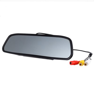 KELIMA 4.3 inch Car Rearview Mirror MonitorCar Monitor<br>KELIMA 4.3 inch Car Rearview Mirror Monitor<br><br>Apply To Car Brand: Universal<br>Aspect ratio: 16:9<br>Brand: KELIMA<br>Display Resolution: 480 x 272<br>Display screen : TFT<br>Package Contents: 1 x KELIMA Car Rearview Mirror, 1 x Rearview Camera, 2 x Accessary Power Cable, 1 x AV Connection Cable, 2 x Screw, 1 x English User Manual<br>Package size (L x W x H): 31.00 x 11.00 x 5.50 cm / 12.2 x 4.33 x 2.17 inches<br>Package weight: 0.490 kg<br>Power Cable Length: Car rearview mirror power cable: 0.6m, rearview camera power cable: 0.62m, accessary power cable: 1.02m<br>Power Supply: DC 12V - 24V<br>Product size (L x W x H): 28.80 x 7.40 x 3.80 cm / 11.34 x 2.91 x 1.5 inches<br>Product weight: 0.244 kg<br>Type: Rear View Camera<br>Video format: PAL, NTSC