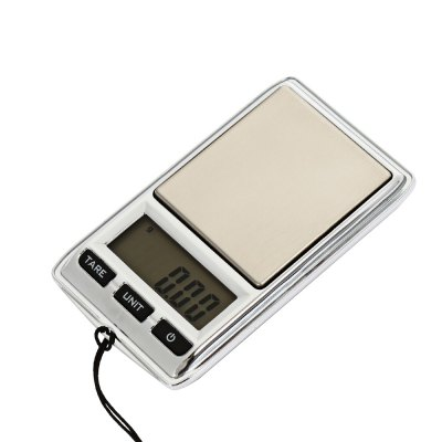 DS - 22 Pocket LCD Digital Jewelry Scales with BacklightDigital Scales<br>DS - 22 Pocket LCD Digital Jewelry Scales with Backlight<br><br>Material             : Others<br>Model: DS - 22<br>Package Contents: 1 x Mini LCD Digital Jewelry Scale ( with Battery ), 1 x Bag<br>Package size (L x W x H): 10.00 x 7.20 x 3.00 cm / 3.94 x 2.83 x 1.18 inches<br>Package weight: 0.0710 kg<br>Product size (L x W x H): 7.50 x 4.30 x 1.20 cm / 2.95 x 1.69 x 0.47 inches<br>Product weight: 0.0350 kg<br>Type: Digital Scale, Jewelry Scale