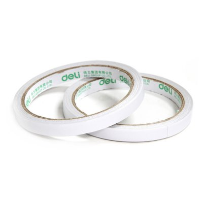 Deli 30400 32PCS Double-sided Paper Adhesive TapeTapes<br>Deli 30400 32PCS Double-sided Paper Adhesive Tape<br><br>Brand: Deli<br>Color: White<br>Package Contents: 32 x Deli 30400 Paper Adhesive Tape<br>Package size (L x W x H): 9.40 x 9.40 x 28.50 cm / 3.7 x 3.7 x 11.22 inches<br>Package weight: 0.650 kg<br>Product size (L x W x H): 9.30 x 9.30 x 28.00 cm / 3.66 x 3.66 x 11.02 inches<br>Product weight: 0.620 kg<br>Working Type: Offline