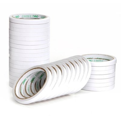 Deli 30400 32PCS Double-sided Paper Adhesive Tape