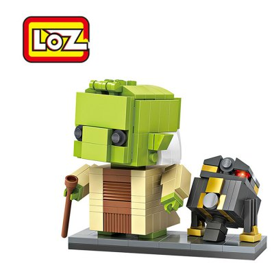 LOZ ABS 228pcs Movie Character Robot Building Block Toy