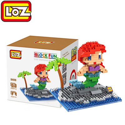 LOZ 290Pcs ABS Cartoon Building Block