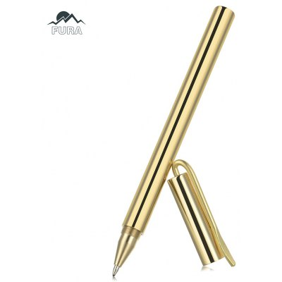 FURA Brass Tactical Gel Pen