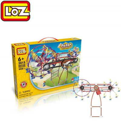 LOZ 2015 Amusement Park Series Electric Building Block 599Pcs