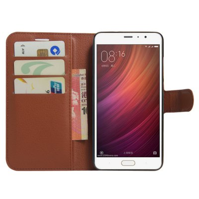 PU Leather Full Body Phone Case for Xiaomi Redmi ProCases &amp; Leather<br>PU Leather Full Body Phone Case for Xiaomi Redmi Pro<br><br>Color: Black,Brown<br>Compatible Model: Redmi Pro<br>Features: Anti-knock, Cases with Stand, Full Body Cases, With Credit Card Holder<br>Mainly Compatible with: Xiaomi<br>Material: PU Leather<br>Package Contents: 1 x Phone Case<br>Package size (L x W x H): 21.50 x 14.00 x 2.50 cm / 8.46 x 5.51 x 0.98 inches<br>Package weight: 0.101 kg<br>Product Size(L x W x H): 15.80 x 8.70 x 1.50 cm / 6.22 x 3.43 x 0.59 inches<br>Product weight: 0.065 kg<br>Style: Modern