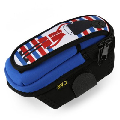 Water Resistant Sports Arm Bag for 5.8 inch Mobile Phone