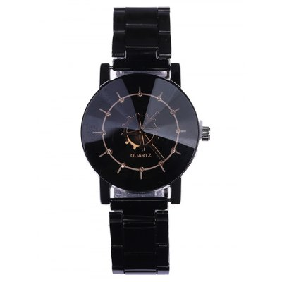 Stainless Steel Strap Couple Quartz WatchCouples Watches<br>Stainless Steel Strap Couple Quartz Watch<br><br>Band material: Stainless Steel<br>Case material: Alloy<br>Clasp type: Folding clasp with safety<br>Display type: Analog<br>Movement type: Quartz watch<br>Package Contents: 1 x Man Watch, 1 x Woman Watch<br>Package size (L x W x H): 26.00 x 8.00 x 4.00 cm / 10.24 x 3.15 x 1.57 inches<br>Package weight: 0.1260 kg<br>Watch style: Casual<br>Watches categories: Couple tables