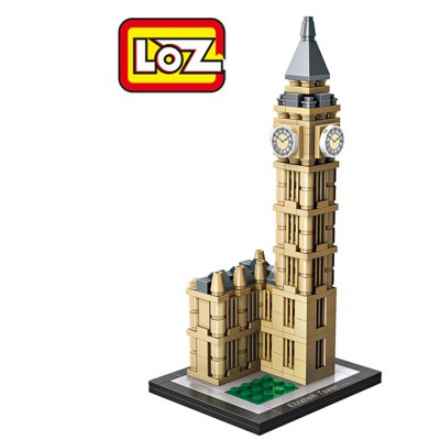LOZ Elizabeth Tower ABS Assembly Model Toy