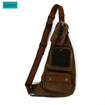 Kabden 6L Canvas Sling Bag