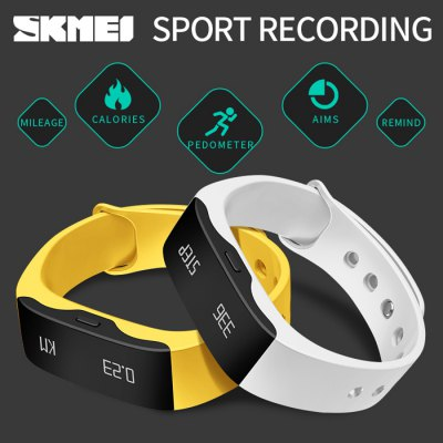 SKMEI L28T Real-time Sports Track Smart WristbandSmart Watches<br>SKMEI L28T Real-time Sports Track Smart Wristband<br><br>Alert type: Vibration<br>Band material: TPU<br>Band size: 22.5 x 1.7 cm / 8.66 x 0.67 inches<br>Battery  Capacity: 55mAh<br>Bluetooth Version: Bluetooth 4.0<br>Case material: PC<br>Charging Time: About 2hours<br>Compatability: Android 4.3 / iOS 7.0 and above sytems<br>Compatible OS: IOS, Android<br>Dial size: 4.3 x 1.7 x 1 cm / 1.69 x 0.67 x 0.79 inches<br>Functions: Alarm Clock<br>Operating mode: Press button<br>Package Contents: 1 x SKMEI L28T Smart Wristband, 1 x Chinese and English User Manual, 1 x Charging Cable<br>Package size (L x W x H): 13.00 x 8.00 x 3.00 cm / 5.12 x 3.15 x 1.18 inches<br>Package weight: 0.1340 kg<br>People: Female table,Male table<br>Product size (L x W x H): 22.50 x 1.70 x 1.00 cm / 8.86 x 0.67 x 0.39 inches<br>Product weight: 0.0220 kg<br>Screen type: OLED<br>Shape of the dial: Rectangle<br>Waterproof: Yes<br>Wearable length: 13.9 -19.5 cm / 5.47 - 7.68 inches