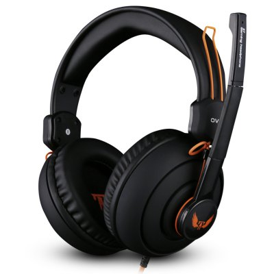 OVANN X7 Professional Gaming HeadsetsGaming Headphones<br>OVANN X7 Professional Gaming Headsets<br><br>Application: Portable Media Player, Mobile phone<br>Brand: OVANN<br>Cable Length (m): 2.4m<br>Compatible with: Mobile phone<br>Connectivity: Wired<br>Driver unit: 40mm<br>Frequency response: 20-20000Hz<br>Function: Noise Cancelling, Microphone, Answering Phone<br>Impedance: 32ohms<br>Language: No<br>Material: ABS<br>Model: X7<br>Package Contents: 1 x Headsets<br>Package size (L x W x H): 23.00 x 11.00 x 24.00 cm / 9.06 x 4.33 x 9.45 inches<br>Package weight: 0.617 kg<br>Plug Type: 3.5mm<br>Product size (L x W x H): 19.00 x 9.50 x 19.00 cm / 7.48 x 3.74 x 7.48 inches<br>Product weight: 0.284 kg<br>Sensitivity: 92±3dB<br>Wearing type: Headband