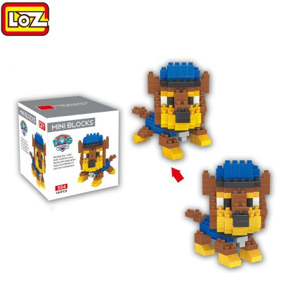 LOZ ABS 194Pcs Dog Style Building Block Toy for Improving Social Cooperation Ability
