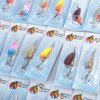 cheap 30pcs Fishing Bait Hard Lure with Barbed Hook / Sequin