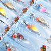 30pcs Fishing Bait Hard Lure with Barbed Hook / Sequin photo