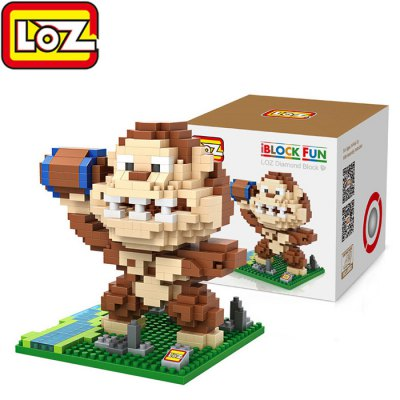 LOZ 480Pcs XL - 9619 Pixel Wars King Kong Building Block Toy