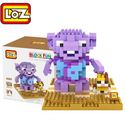 LOZ 320Pcs 9489 Crazy Alien Oh Figure Building Block Toy for Enhancing Social Cooperation Ability