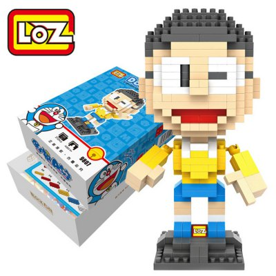 XXL - 9807 Doraemon Nobi Nobita Building Block Toy