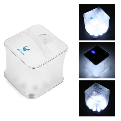 Old Shark Cube LED Solar Energy Lantern