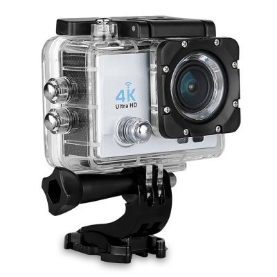 Q6 WiFi 4K Ultra HD Action Sport Camera US PlugAction Cameras<br>Q6 WiFi 4K Ultra HD Action Sport Camera US Plug<br><br>Model: Q6<br>Type: Sports Camera<br>Type of Camera: 4K<br>Max External Card Supported: TF 64G (not included)<br>Screen size: 2.0inch<br>Screen type: LCD<br>Screen resolution: 320x240<br>Battery Type: Removable<br>Capacity: 900mAh<br>Power Supply: 5V 1A<br>Charge way: AC adapter,Car charger,USB charge by PC<br>Working Time: 120 minutes at 1080P<br>Charging Time: 4 - 6H<br>Wide Angle: 170 degree wide angle<br>Camera Pixel : 16MP<br>Optical Zoom  : Yes<br>ISO: Auto,ISO100,ISO1600,ISO200,ISO400,ISO800<br>Decode Format: H.264<br>Video format: MP4<br>Video Resolution: 1080P(30fps),1080P(60fps),2.7K (30fps),4K (30fps),720P (60fps),720P (90fps)<br>Video Frame Rate: 30FPS,60FPS,90fps<br>Image Format : JPEG<br>Audio System: Built-in microphone/speaker (AAC)<br>Exposure Compensation: +1,+2,+3,-1,-2,-3,0<br>White Balance Mode: Auto,Cloudy,Fluorescent,Incandescent,Sunny<br>WIFI: Yes<br>WiFi Function: Image Transmission,Remote Control,Settings,Sync and Sharing Albums<br>Loop-cycle Recording : Yes<br>Night vision : Yes<br>Interface Type: HDMI,Micro USB<br>Language: Deutsch,English,French,Italian,Japanese,Korean,Polski,Russian,Simplified Chinese,Spanish,Traditional Chinese<br>Operating Temp.: -20 - 60 centigrade<br>Operating RH  : 5 - 95 percent<br>Product weight: 0.058 kg<br>Package weight: 0.584 kg<br>Product size (L x W x H): 5.90 x 4.10 x 2.90 cm / 2.32 x 1.61 x 1.14 inches<br>Package size (L x W x H): 27.00 x 16.00 x 6.00 cm / 10.63 x 6.3 x 2.36 inches<br>Package Contents: 1 x Sports Camera, 1 x Waterproof Housing + Mount + Screw, 1 x Handle Bar Mount, 1 x Quick Released Mount, 1 x J-shaped Mount, 1 x Connector, 3 x Screw, 1 x Tripod Mount, 1 x Tripod Mount Adapter, 1 x