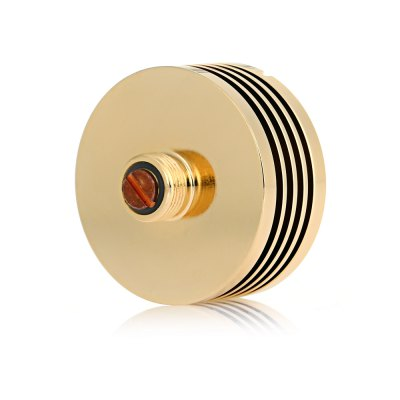 510 Finned Heatsink for E CigaretteAccessories<br>510 Finned Heatsink for E Cigarette<br><br>Accessories type: Adapter<br>Atomizer Connector Diameter: 24mm<br>Available Color: Black,Gold,Silver<br>Material: Stainless Steel<br>Package Contents: 1 x 24mm Adapter<br>Package size (L x W x H): 3.40 x 3.40 x 2.40 cm / 1.34 x 1.34 x 0.94 inches<br>Package weight: 0.038 kg<br>Product size (L x W x H): 2.40 x 2.40 x 1.40 cm / 0.94 x 0.94 x 0.55 inches<br>Product weight: 0.027 kg<br>Type: Electronic Cigarettes Accessories