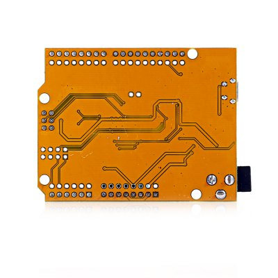 UNO R3 Board ATmega328P with USB Cable for ArduinoBoards &amp; Shields<br>UNO R3 Board ATmega328P with USB Cable for Arduino<br><br>Main Chip: ATmega328P-AU<br>Package Contents: 1 x UNO R3 Development Board, 1 x Pin Header, 1 x USB Cable ( 50cm )<br>Package Size(L x W x H): 10.00 x 8.00 x 3.00 cm / 3.94 x 3.15 x 1.18 inches<br>Package weight: 0.0700 kg<br>Product Size(L x W x H): 7.00 x 5.00 x 1.00 cm / 2.76 x 1.97 x 0.39 inches<br>Product weight: 0.0180 kg<br>Type: UNO R3 Development Board