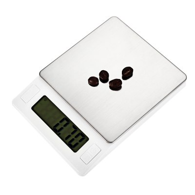 MH - 444 Precise 600g Digital Jewelry ScaleDigital Scales<br>MH - 444 Precise 600g Digital Jewelry Scale<br><br>Material             : Others, ABS<br>Model: MH - 444<br>Package Contents: 1 x Digital Jewelry Scale ( with Battery ), 1 x Tray, 1 x English and Chinese User Manual<br>Package size (L x W x H): 16.00 x 13.00 x 4.00 cm / 6.3 x 5.12 x 1.57 inches<br>Package weight: 0.3300 kg<br>Product size (L x W x H): 13.50 x 10.00 x 2.00 cm / 5.31 x 3.94 x 0.79 inches<br>Product weight: 0.2190 kg<br>Type: Jewelry Scale, Digital Scale
